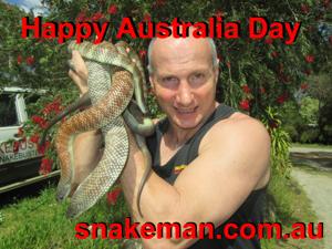 Snake Handler Ray Hoser